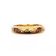 Gold Wedding Ring Set, New