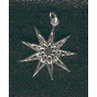 Silver Nine Pointed Star