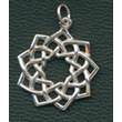 Silver Nine Pointed Star (Newest)