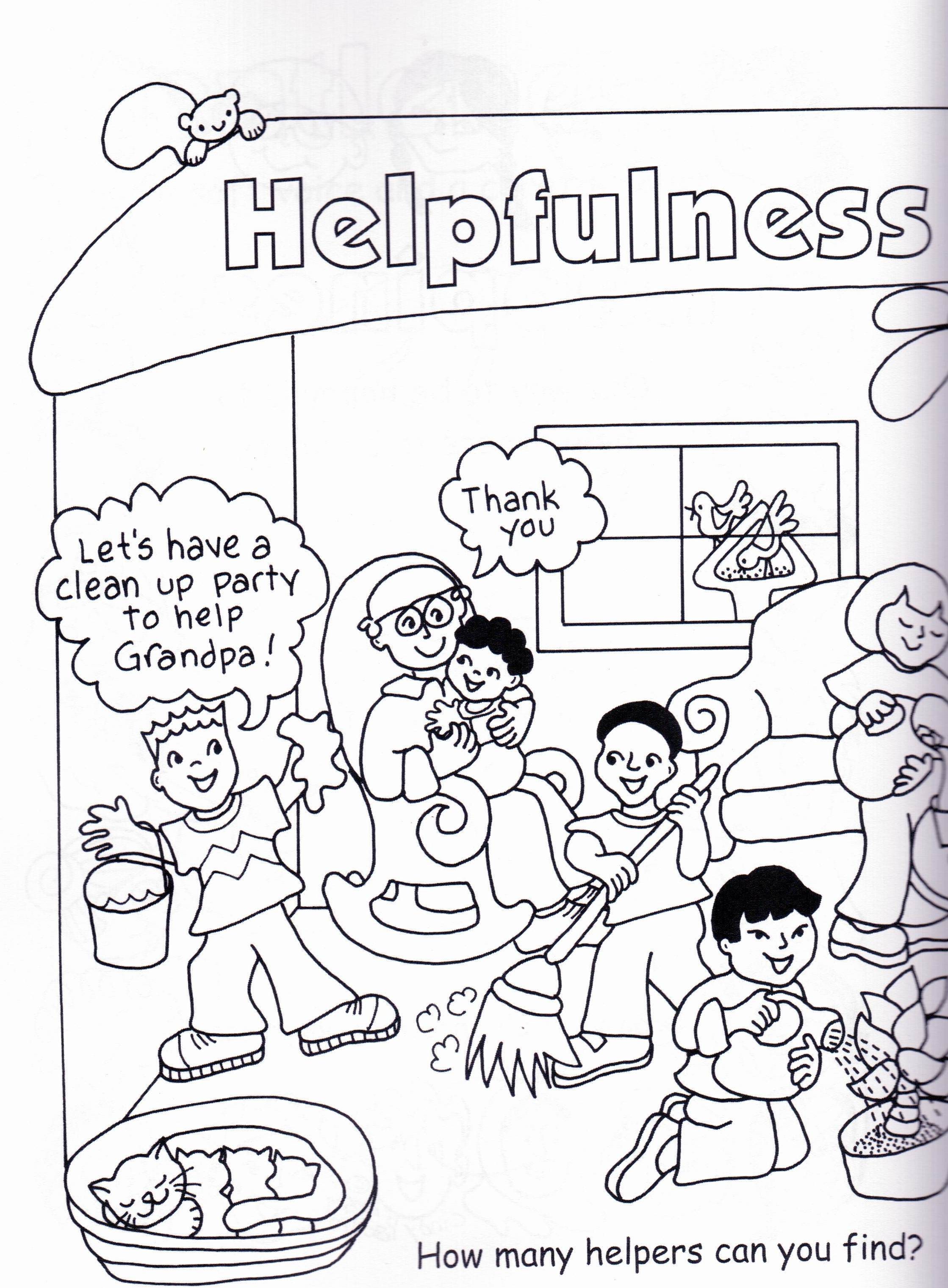 virtues activity and coloring book 5 7 yrs peaceful pages